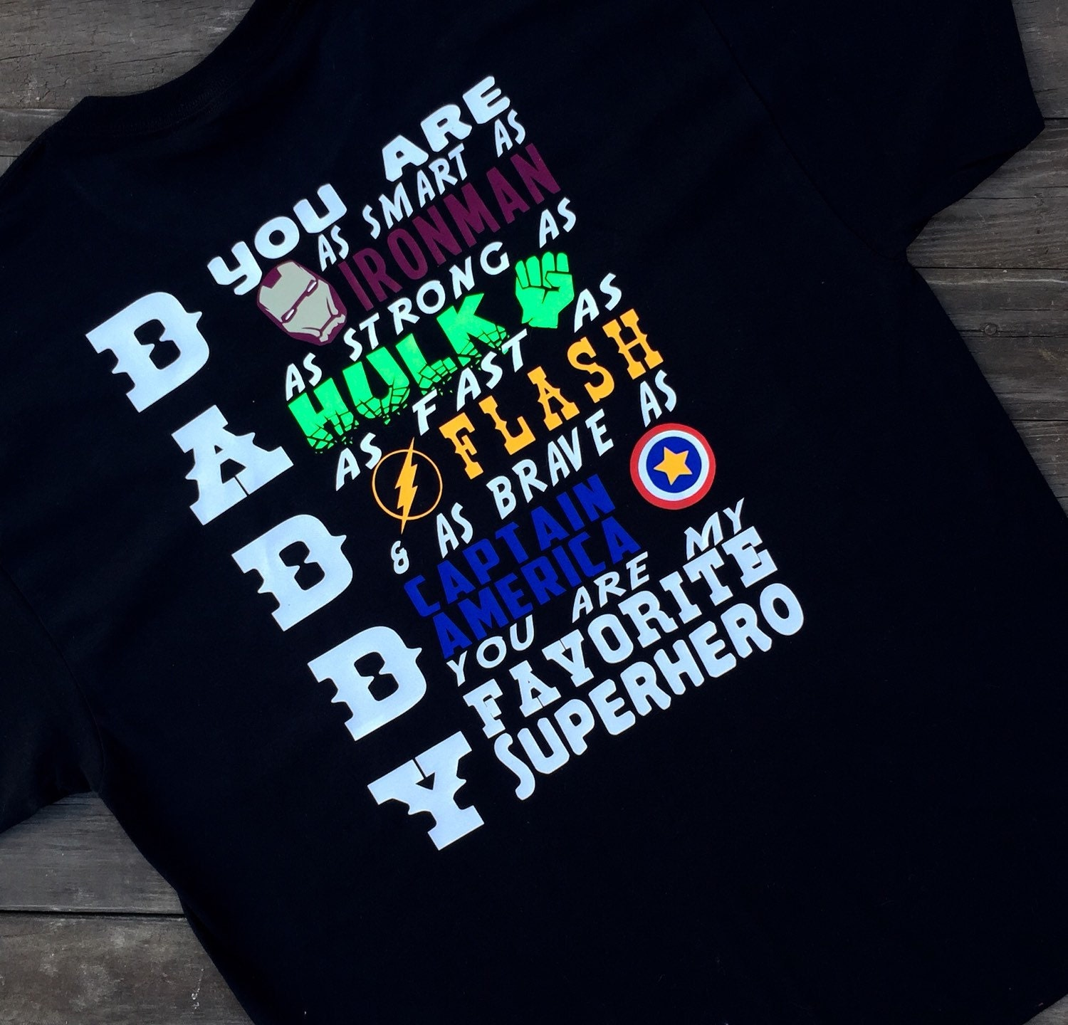 f521f149 Daddy Is My Favorite Superhero Shirt Father's Day Shirt | Etsy