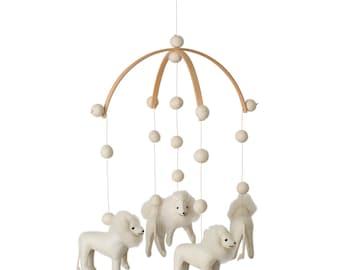 Lion- Jungle- Lion mobile - Nursery - Baby room - Babyshower gift