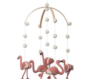 Flamingo _ Nursery decor_Baby mobile _Flamingo mobile _Flamingo decor_ Mobile _ Safari _ Jungle _Pink_Bird
