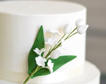 White Blossom Spray