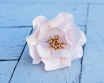 Open Rose Sugar Flower for Christening Cake