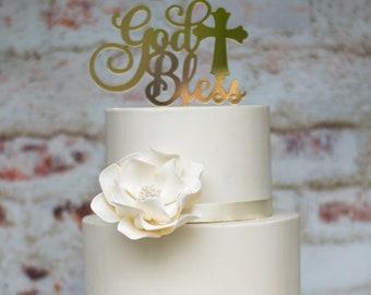 White Open Rose Sugar Flower - Unique Cake Topper for a Wedding or Baptism - Gumpaste Flower Decoration