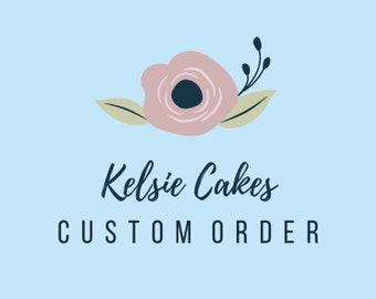 Custom Order for Donna
