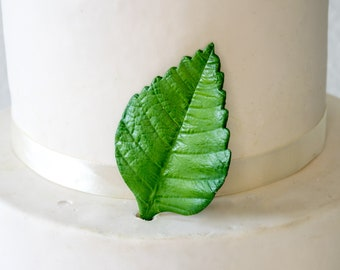 Hibiscus Leaf for Gumpaste and Sugar Flower Cake Toppers