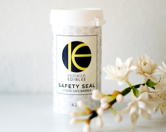 Safety Seal by Ingenious Edibles - Flower Barrier for Wedding Cakes - FDA USA version