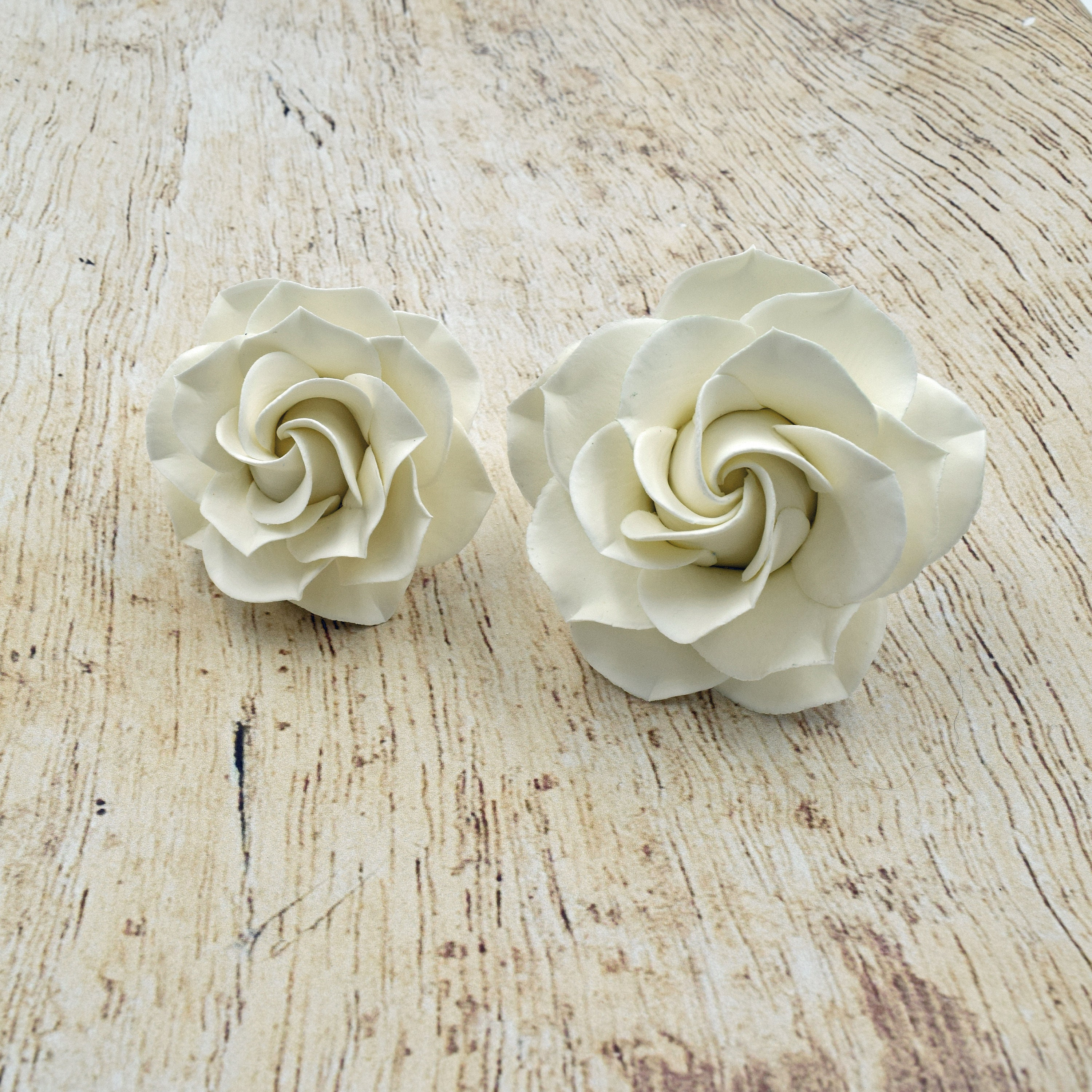 White Gardenia Sugar Flower For Wedding Cake Toppers Southern