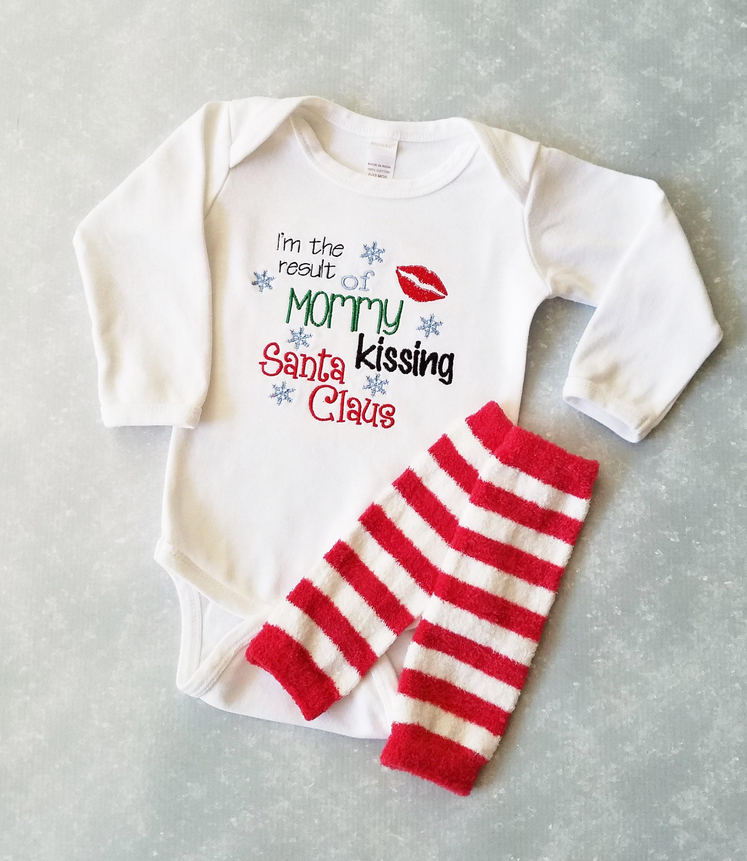 Baby Boy Christmas Outfit Baby Boy Bodysuit Baby Boy First   Etsy