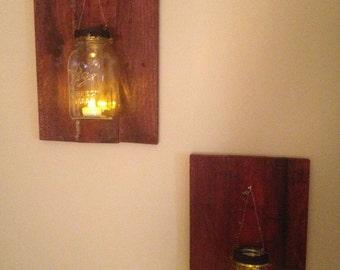 Mason Jar Lanterns (2)