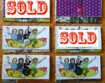 PHISH- Recycled Newspaper Wallets