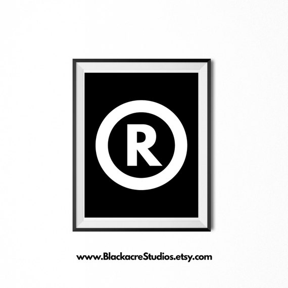 Registered Trademark Symbol Law School Gifts Law Office Etsy
