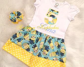 Minion Toddler Dress Etsy