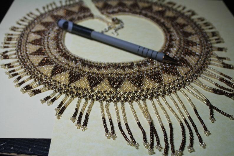 Bead Choker Collar Necklace