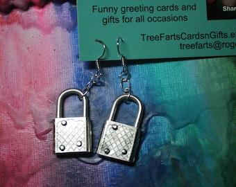 Recycled Locks Earrings