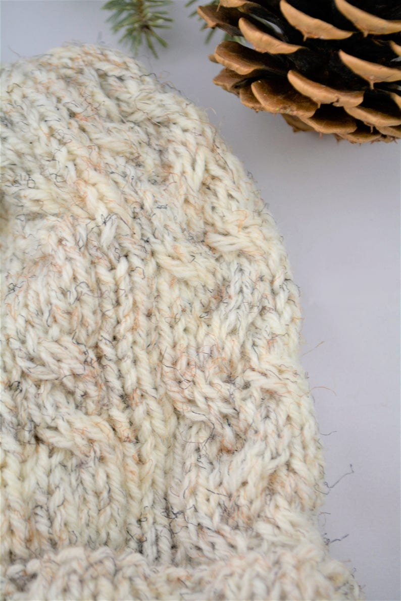 The Ashton Hat Knitting Pattern  Cable Knit Hat  Knit Hat Pattern  Knitted Hat