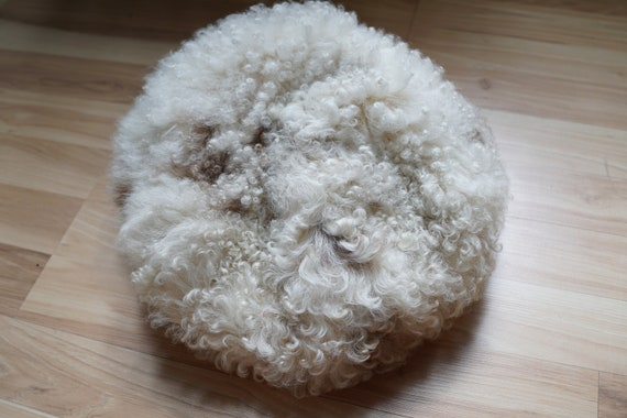 70s / 1970s Halston Mongolian Fur Curly Lamb Beret