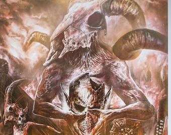 GODS OF VIOLENCE Artprint