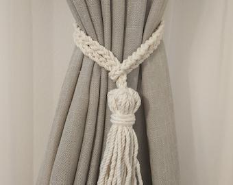 1PC Curtain Tassel Tie Rope Tieback Back Spread Chair Tiebacks Holdbacks Ball