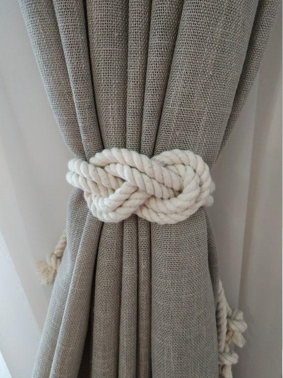 2 Star Coat Hooks Curtain Tiebacks Home Decore