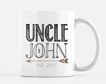 Gift for Uncle, Uncle Mug, Funny Uncle Mug, Worlds best Uncle, Uncle Gift, Pregnancy Reveal Mug, Uncle, guy mugs
