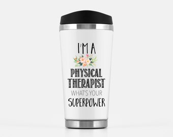 Physical Therapist Travel Mug Physical Therapy Gift Travel Mug Gift for Physical Therapist PT gifts graduation gift Gift for PT & Travel Mug Physical Therapist Mug Physical Therapy Gift | Etsy