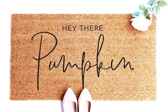 Shop Hey There Pumpkin Fall Doormat Pumpkin Decor Fall Decor | Etsy from Etsy on Openhaus