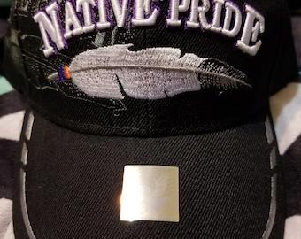Feather Baseball Cap