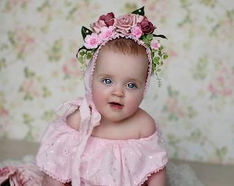 Off the shoulder sitter dress photo prop pink Bardot dress