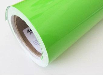Lime Green Vinyl, Lime Adhesive Vinyl, Bright Green Vinyl, Permanent Vinyl, Outdoor Vinyl, Vinyl Sheets, Adhesive Vinyl, Decal Vinyl, Lime