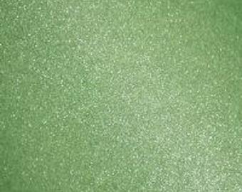 "12x12"" Key Lime Transparent Glitter Adhesive Vinyl Permanent Outdoor Vinyl Oracal 951, Oracal 651 Equivalent, Transparent Glitter Vinyl"