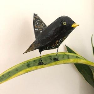 Swan Faux Taxidermy wall decor paper mache bird mould