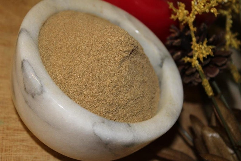 Mugwort Tea Powder - Appalachian Mountains Wild Harvest
