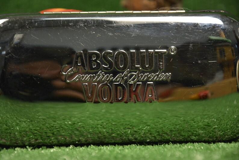 Enamel glasses case - Vodka Absolut case - Sunglasses case - Box for glasses - Glasses case - Gift for father - Elegant box for glasses