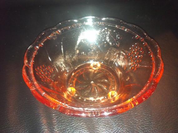 Decorative Clear Glass Bowls.Vintage Decorative Clear Glass Bowl Large Decorative Bowl Vintage Bowls Glass Bowls Clear Glass Dessert Bowls Gift Idea