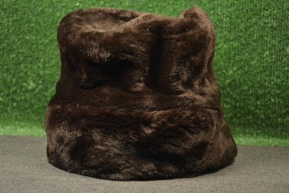 Winter hat - Natural hair - Sheepskin hat - Fur ha