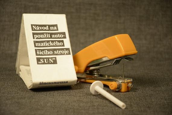 Hand Sewing Machine Portable SUN Vintage Pocket Sewing Etsy Simple Sun Hand Sewing Machine