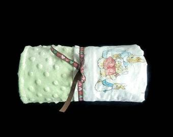 Peter Rabbit Nursery - Beatrix Potter Bedding - Peter Rabbit Blanket - Beatrix Potter - Beatrix Potter Nursery - Crib Bedding