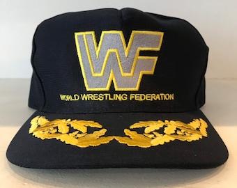 9b91577764d WWF World Wide Wrestling snaback Hat ds
