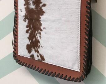 SALE Cowhide Leather Bag