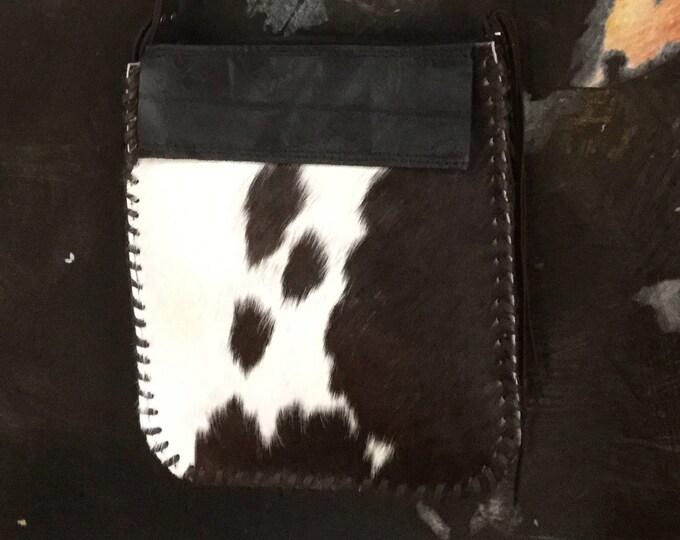 New Zealand Hand Made Cowhide Bag.