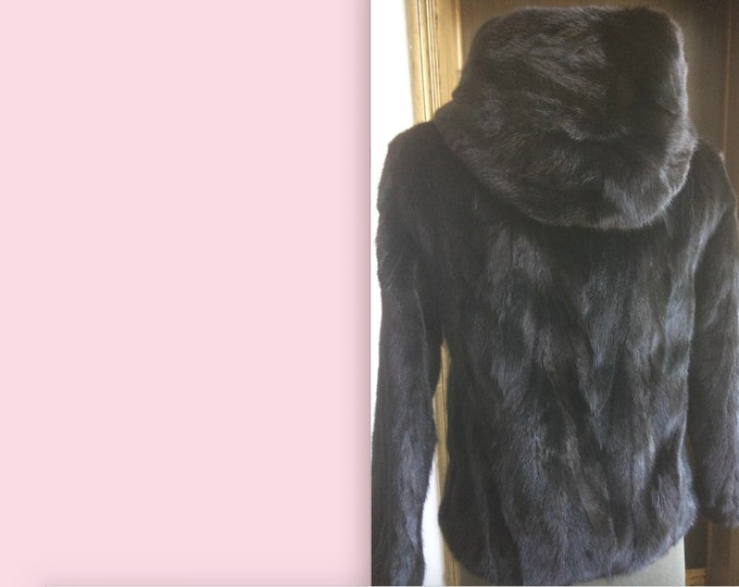 Mink Fur Coat, Real Fur Jacket, Fur Coat.
