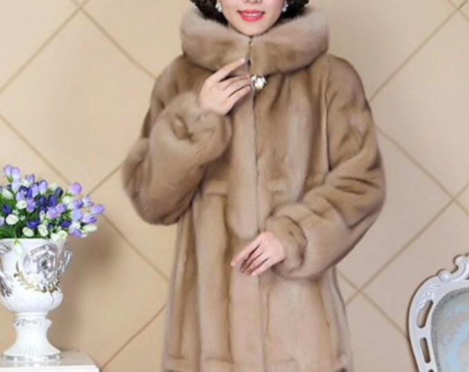 Mink Fur Coat, Real Fur.