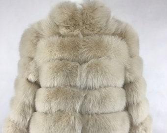 Fox Fur Jacket, Real Fur.