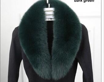 Genuine Fox Fur Collar/Scarf