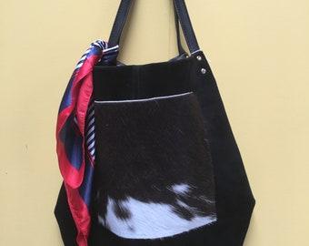 Genuine Cowhide Leather Bag