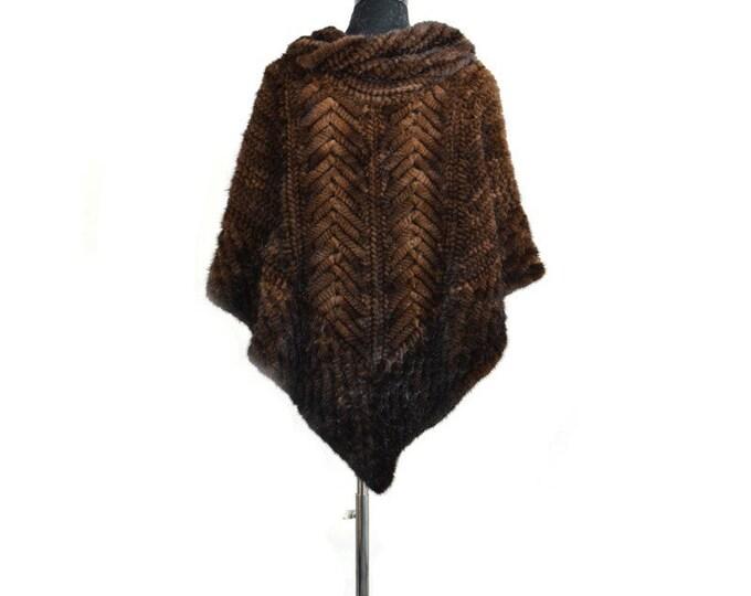 PAYMENT PLAN - Mink Fur Cape/Poncho, Fur Vest