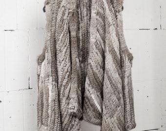 Fur Vest, Rabbit Fur Jacket, Rabbit Fur Vest, Rabbit Fur Coat.