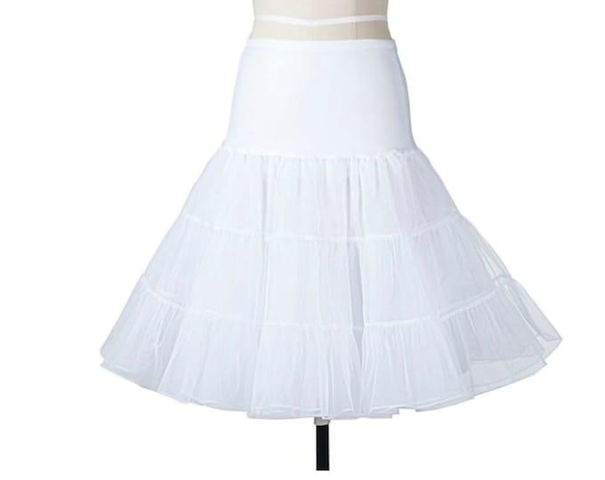 Petticoat for Retro Pin Up Dress, Summer Dress, Rockabilly Vintage Looking Dress.
