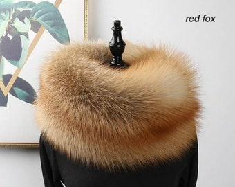 Fox Fur Scarf, Real Fur.