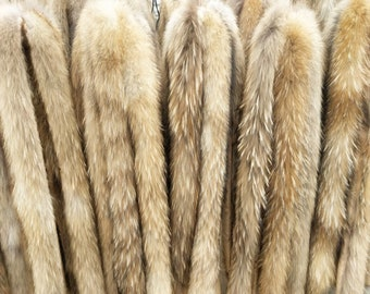 Raccoon Fur Scarf