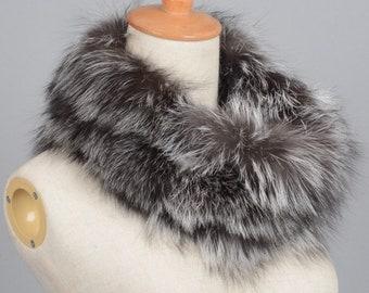 Real Fox Fur Neck Warmer